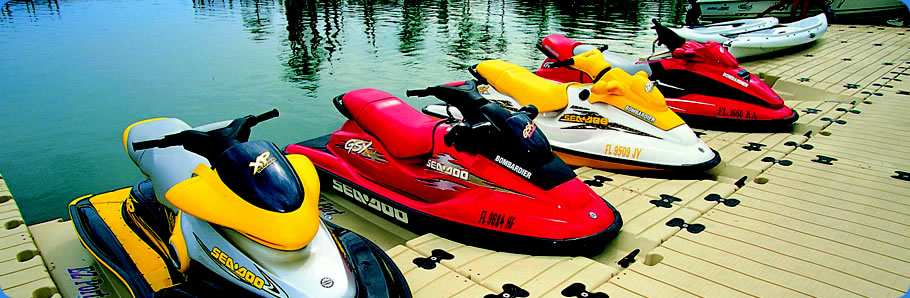 Personal Watercraft Docking Station - Jet Skies